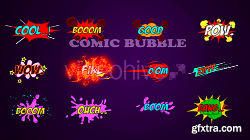 Videohive Comic Fx Pack 17323455