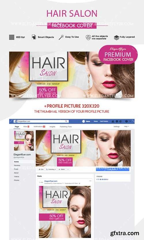 Hair Salon V1 2018 Facebook Event + Instagram template