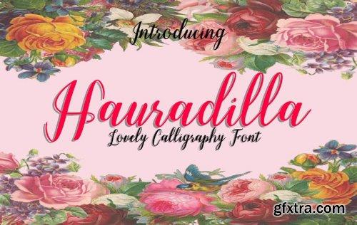Hauradilla Font