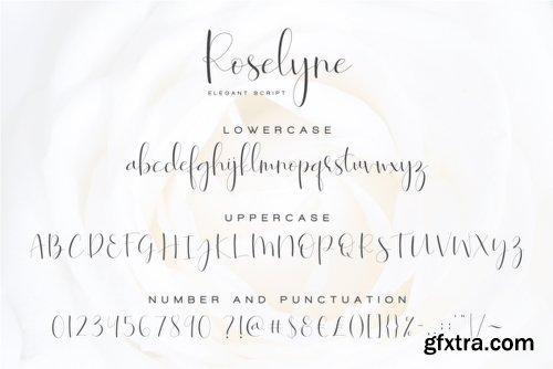 Roselyne Script Font