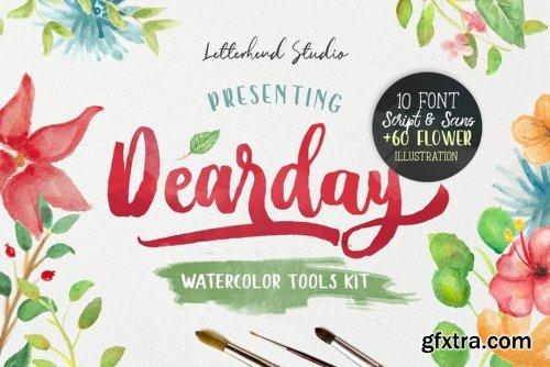 DearDay - 10 Fonts