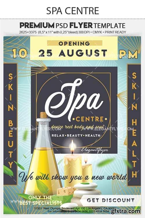 Spa Beauty Centre V1 2018 Premium Flyer PSD Template