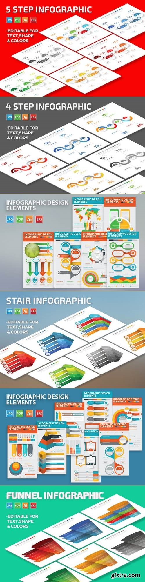 Infographic Set Bundle