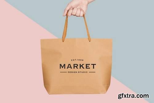 Shopping Bag Mock Up