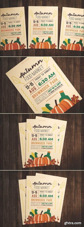 Autumn Food Festival Flyer
