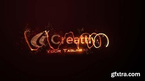 Videohive - Fire Logo - 13627007