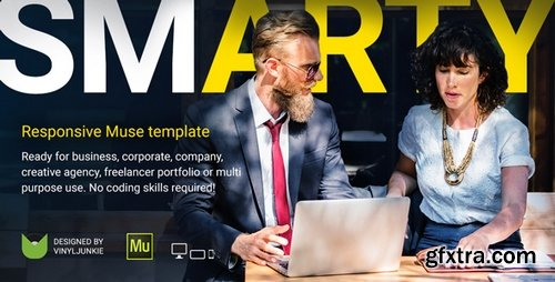 ThemeForest - SmArty - Multipurpose Responsive Muse Template - 21312471