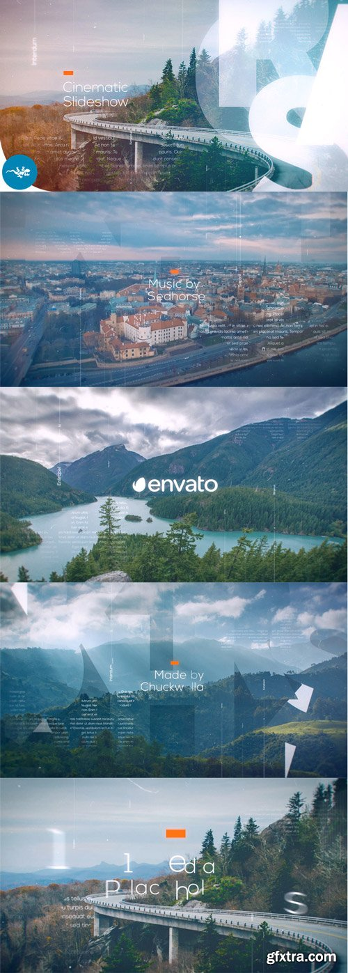 Videohive - Cinematic Slideshow - 21983757