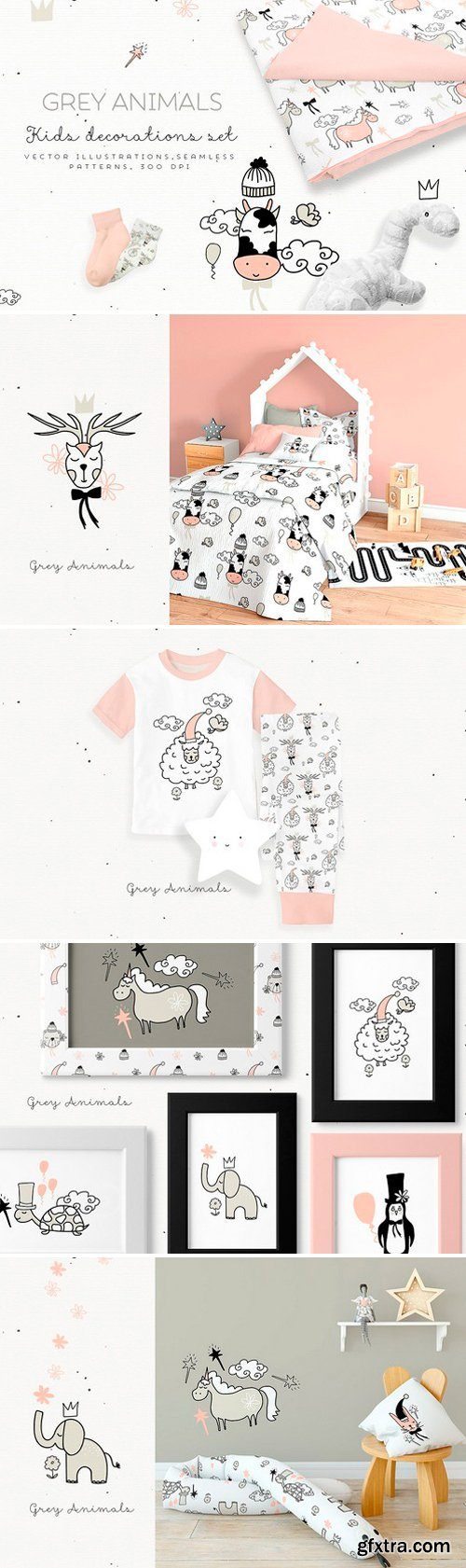 CM - Grey Animals 2187309