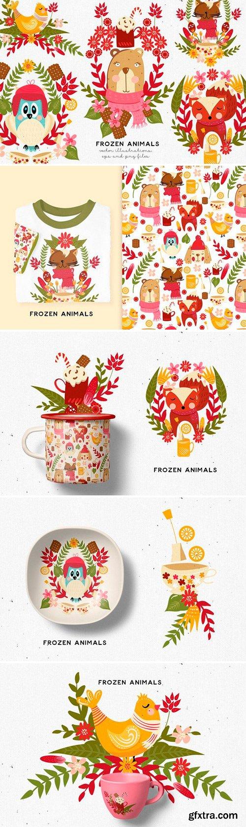 CM - Frozen Animals 2149817