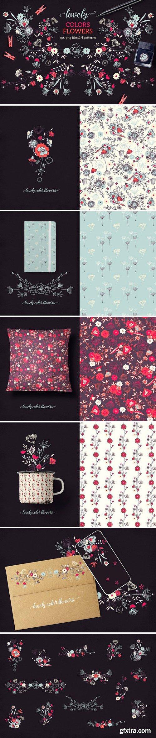 CM - Lovely Colors Flowers 949255