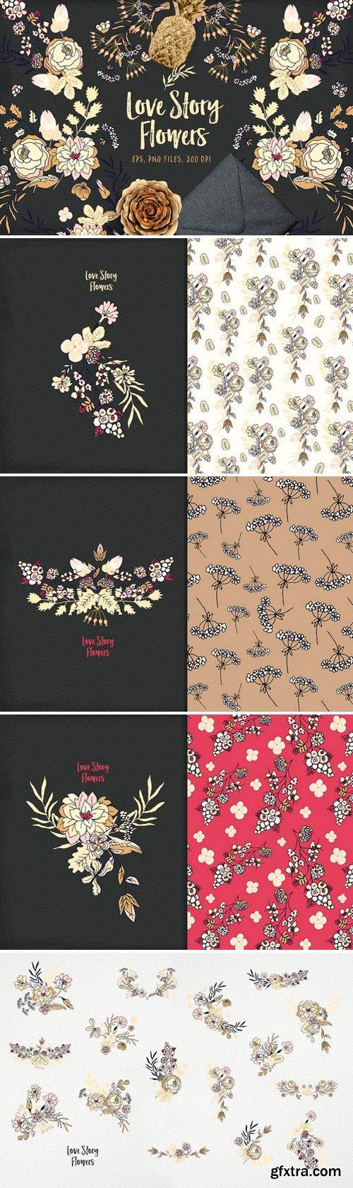 CM - Love Story Flowers 1165286