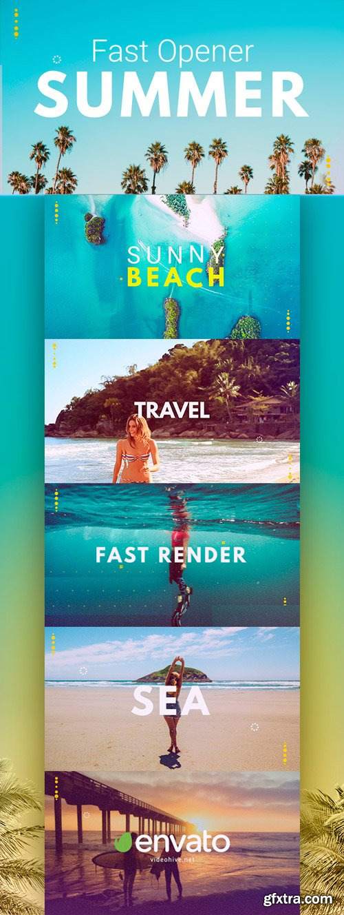 Videohive - Summer Fast Opener - 22036346
