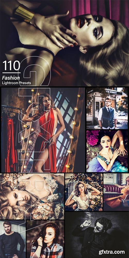 110 Fashion Lightroom Presets