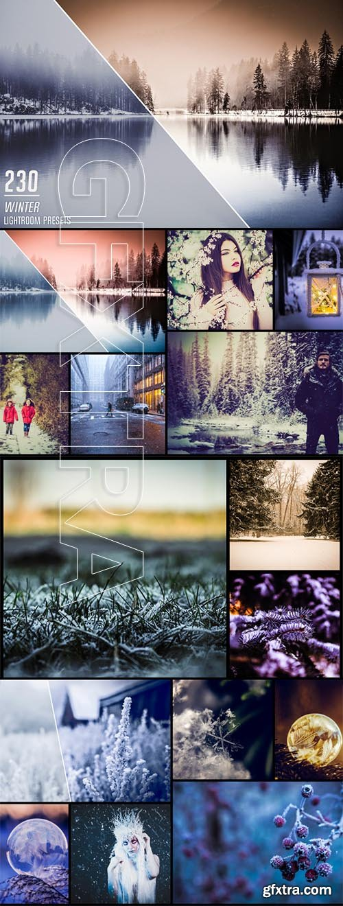 230 Winter Lightroom Presets