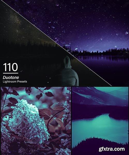 110 Duotone Lightroom Presets