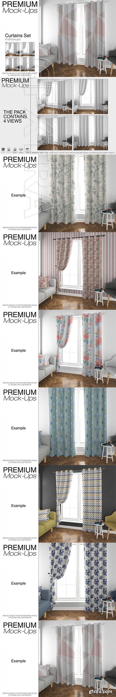 Curtains Mockup Set