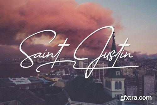 Saint Justin Font Family  - 3 Fonts