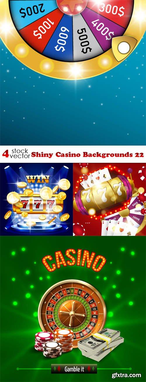 Vectors - Shiny Casino Backgrounds 22