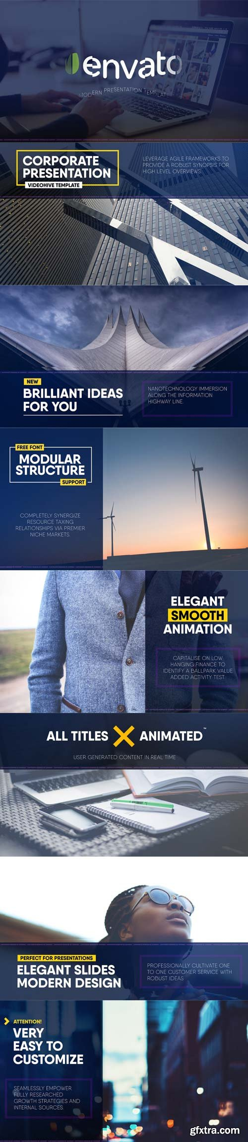 Videohive - Elegant Corporate Slides - 18747979