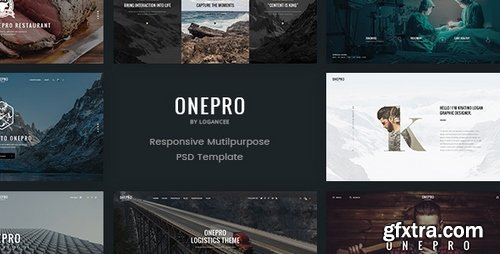 ThemeForest - OnePro - Creative Multipurpose PSD Template - 15082258