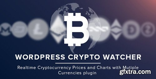CodeCanyon - WordPress Crypto Watcher v1.0.0 - Realtime Cryptocurrency Prices and Charts with Multiple Currencies - 21628688