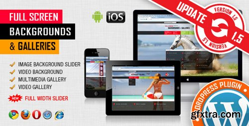 CodeCanyon - Image&Video FullScreen Background WordPress Plugin v1.5.3.3 - 5899703