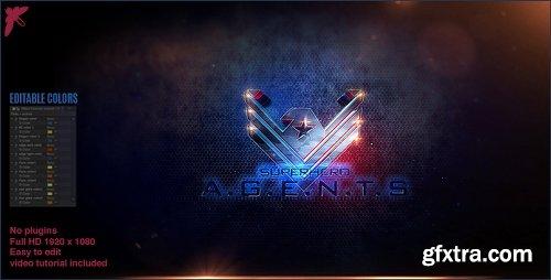 Videohive Superhero Agents Logo 20675789