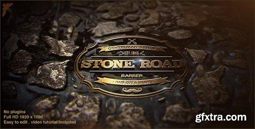 Videohive Stone Road Logo 20488729