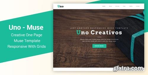 ThemeForest - Uno v1.0 - Responsive One Page Muse Template - 21975001