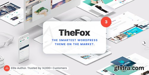 ThemeForest - TheFox v3.4.7 - Responsive Multi-Purpose WordPress Theme - 11099136