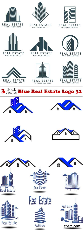 Vectors - Blue Real Estate Logo 32