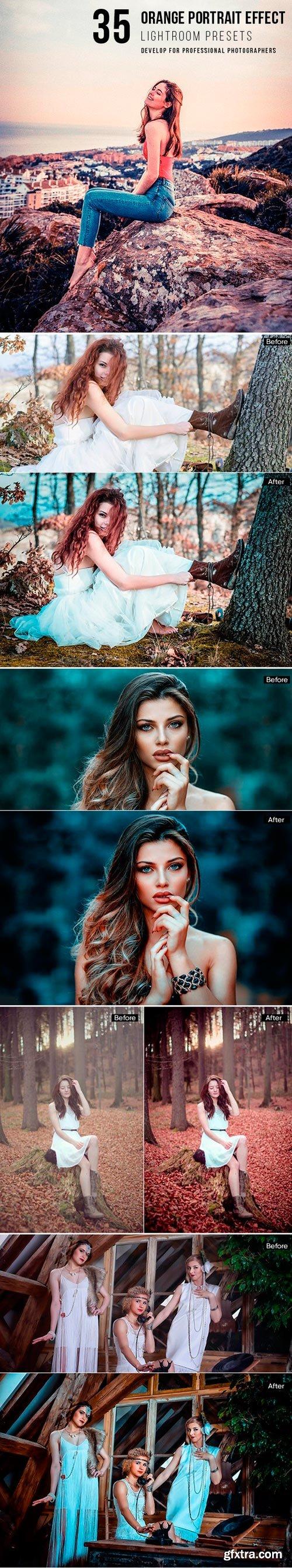 Graphicriver - 22141416 35 orange portrait effect presets