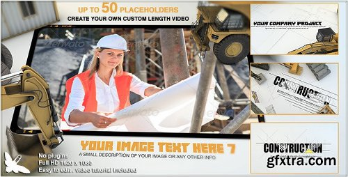 Videohive Construction Site Presentation 8676714