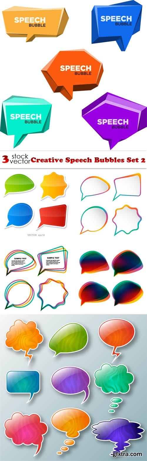 Vectors - Creative Speech Bubbles Set 2