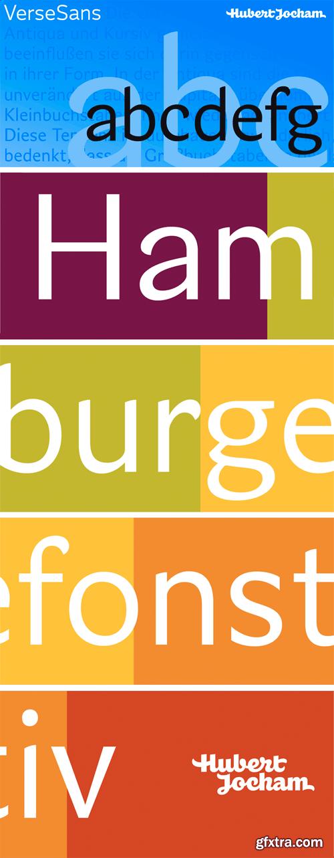 Verse Sans Font Family