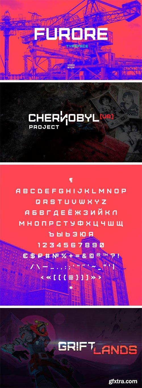 Furore Typeface