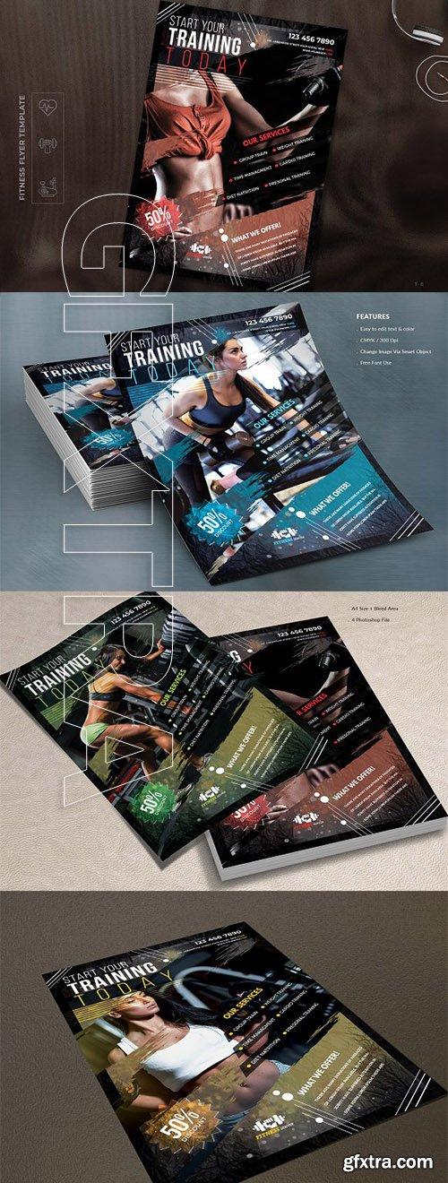 CreativeMarket - Fitness Flyer 2766613