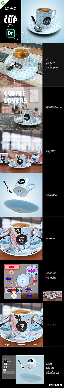 CreativeMarket - Espresso CUP mock-up 2734846
