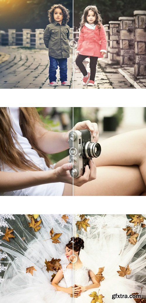 Photonify - Soft Collection Photoshop Actions