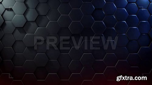 Extruded Hexagon Background 92727