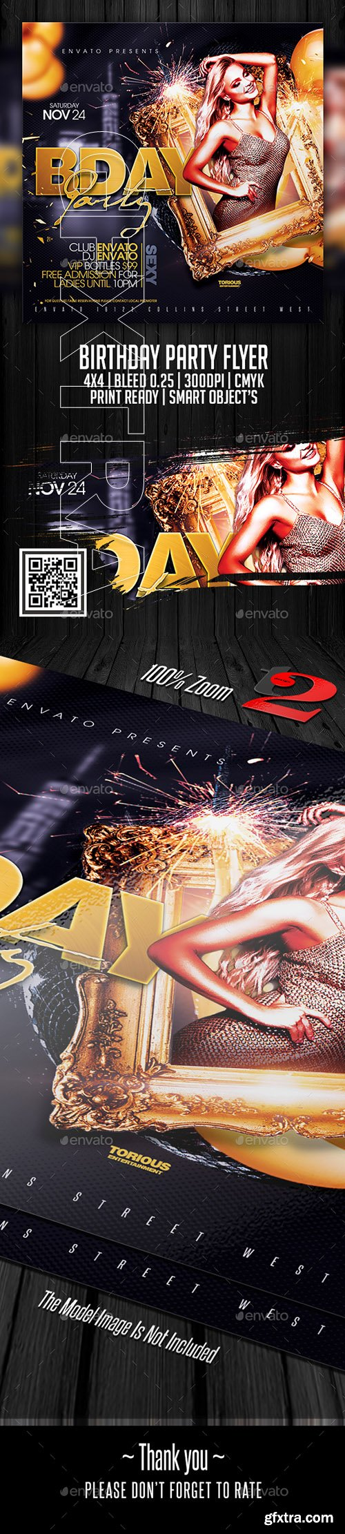 GraphicRiver - Birthday Party Flyer Template 22309982