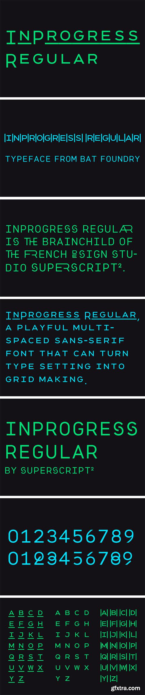 InProgress Font
