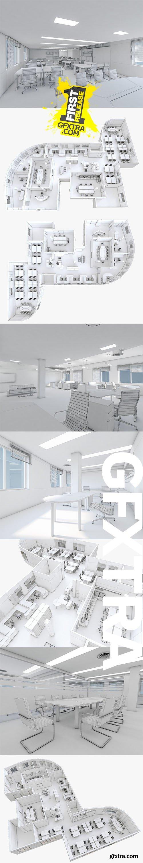 Cuberbrush - Office Interior 04