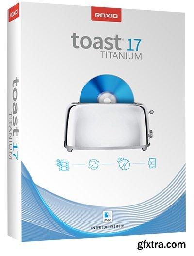 Roxio Toast Titanium 17.0.5379 macOS