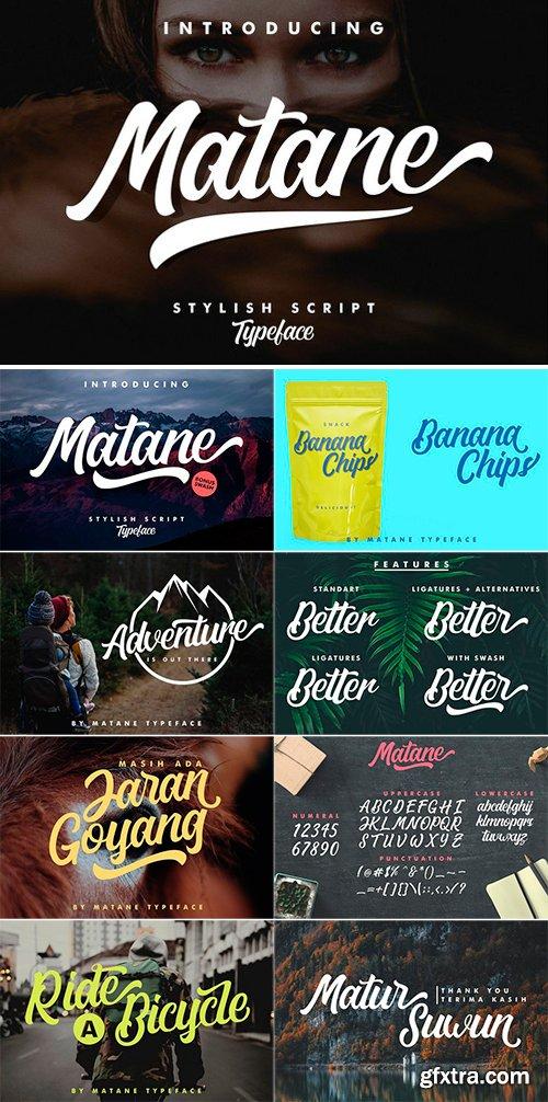 CM - Matane Typeface + Swash 2569014