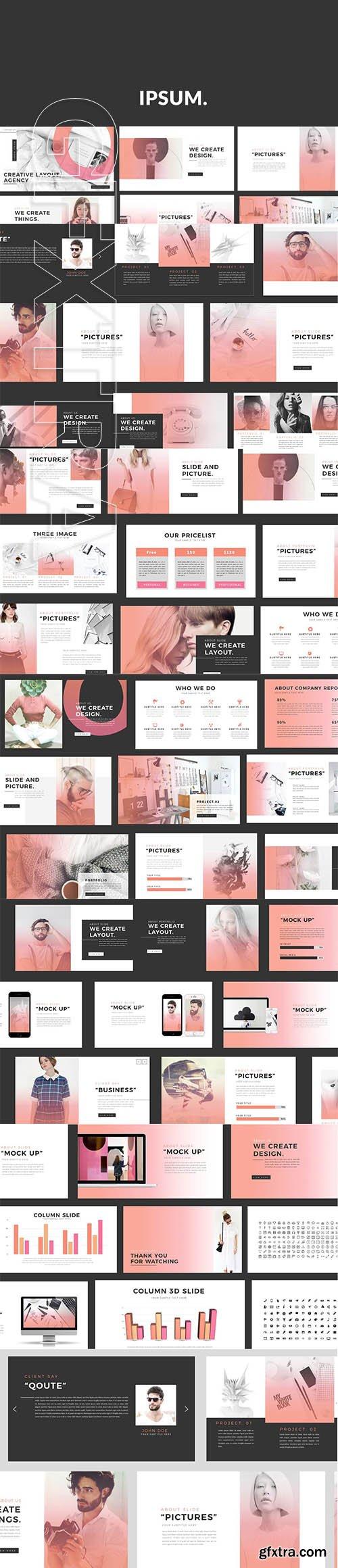 CreativeMarket - IPSUM Powerpoint 2765471