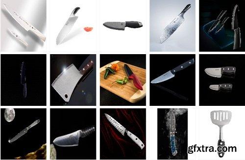 Photigy - Sharp and Glossy (Cutting Instrument Creative Shot)Sharp and Glossy (Cutting Instrument Creative Shot)
