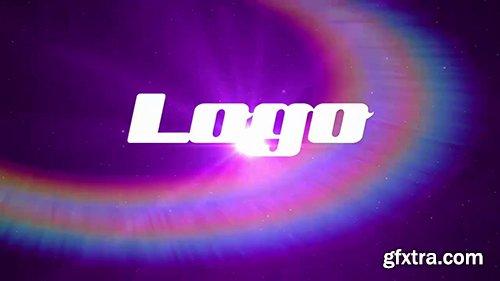 Colorful Light Spiral Logo 92603
