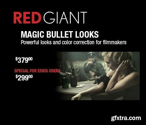 Red Giant Magic Bullet Looks 4.0.3